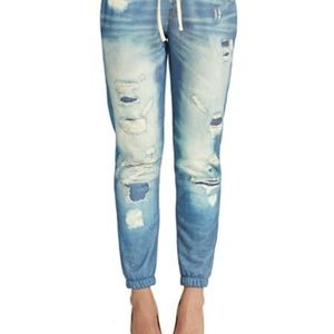 Faux Denim Pants by Guess